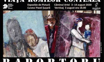 """Eugen Raportoru expoziție personală """"Viețile romilor contează"""" @ Căminul Artei, CAV, București"""