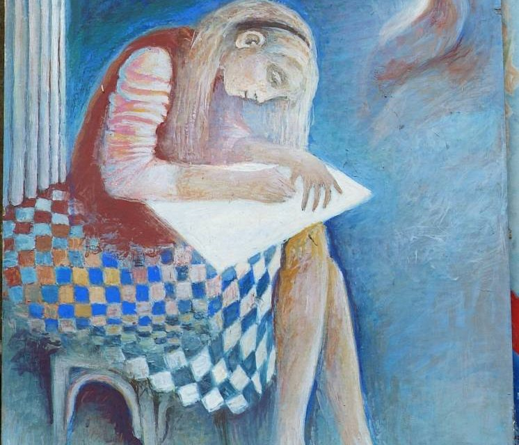"""Expoziție """"Valentina Rusu Ciobanu – o sută de ani de la naștere"""" @ Muzeul Municipiului București, Palatul Suțu"""
