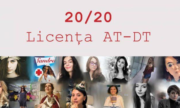 "Expoziție online Licență AT-DT ""20/20"""
