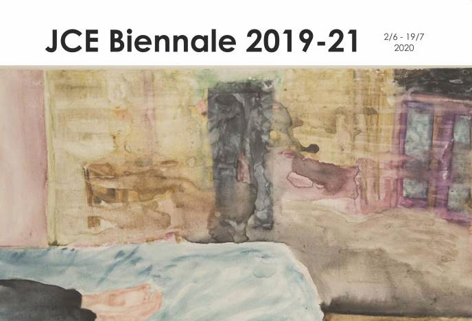 Mihaela Mihalache în expoziția de grup din cadrul Bienalei JCE, Hjørring, Danemarca