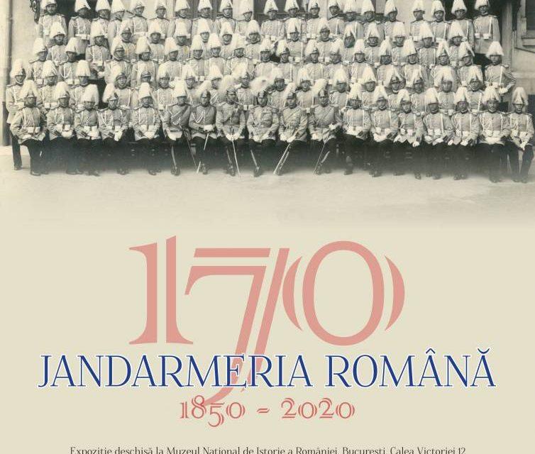 """Expoziția """"Jandarmeria Română 1850 – 2020"""" la Muzeul Național de Istorie a României"""