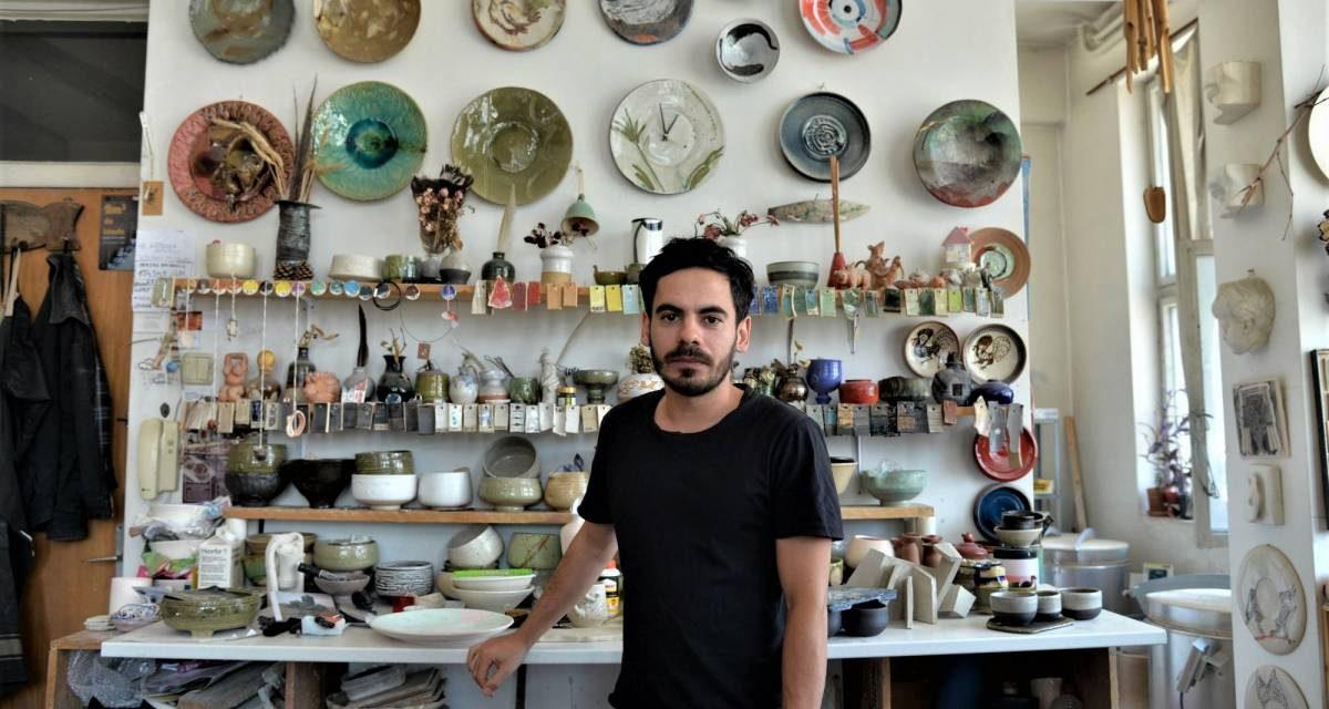 Marius Stanciu – vizită în atelierul de ceramică
