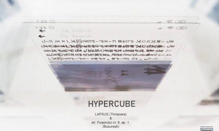 Hypercube – instalație de Andreea Medar & Mălina Ionescu (Timișoara & București)