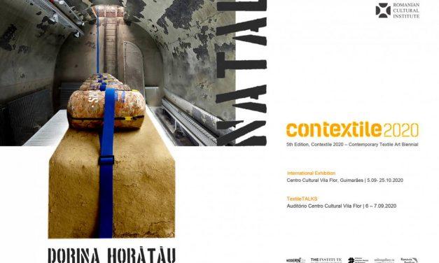Dorina Horătău la Contextile/2020, Bienala de Artă Textilă Contemporană din Portugalia