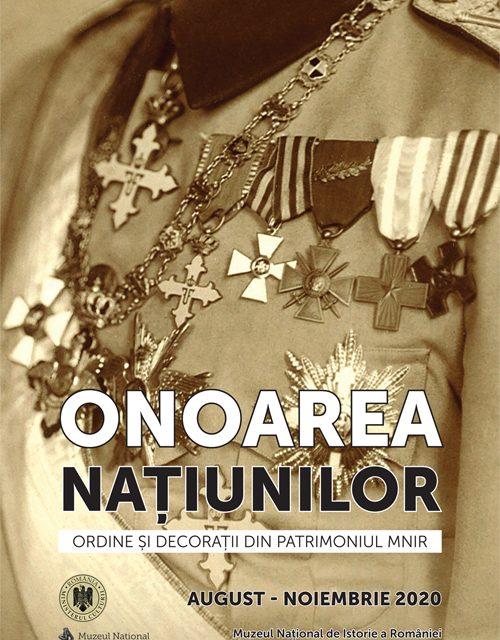 """Deschiderea expoziției """"Onoarea Națiunilor. Ordine și Decorații din patrimoniul MNIR"""", la Muzeul Național de Istorie a României"""