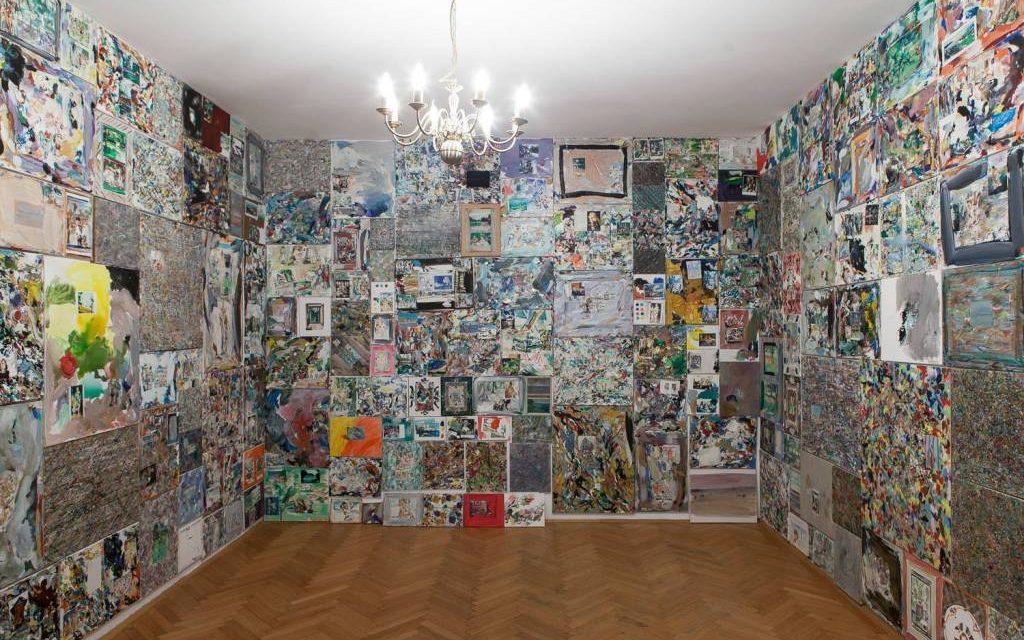 """Anca Mureșan """"Galleria come opera d'arte"""" – Painting as Performance (""""Galeria ca operă de artă""""- Pictura ca performance) @ IRCCU Venezia"""