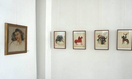 """Expoziția Magdalena Rădulescu """"Revelație"""" Muzeul de Artă Constanța"""
