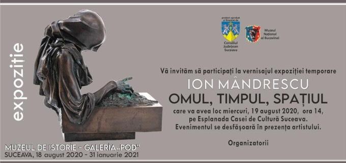 """Expoziția de sculptură Ion Mândrescu """"Omul, timpul, spațiul"""" @ Muzeul Național al Bucovinei, Suceava"""