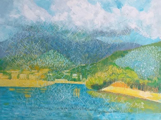 """Expoziție de pictură, grafică și sculptură în lemn, Ion Aurel Garjoaba @ Galeria de artă """"Metopa"""" din Pitești"""