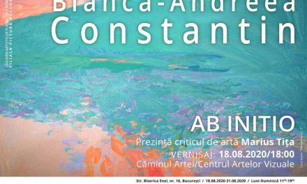 """Expoziție personală Bianca-Andreea Constantin """"Ab initio"""" @ Căminul Artei/ Centrul Artelor Vizuale, Bucureşti"""