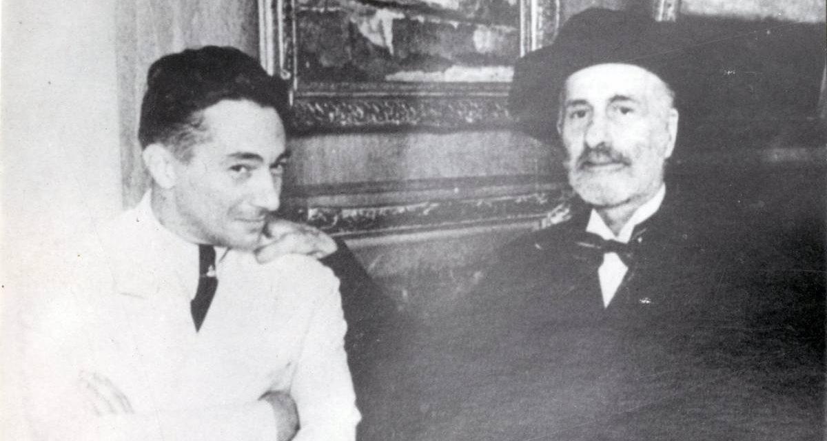 Theodor Pallady și Ionel Teodoreanu