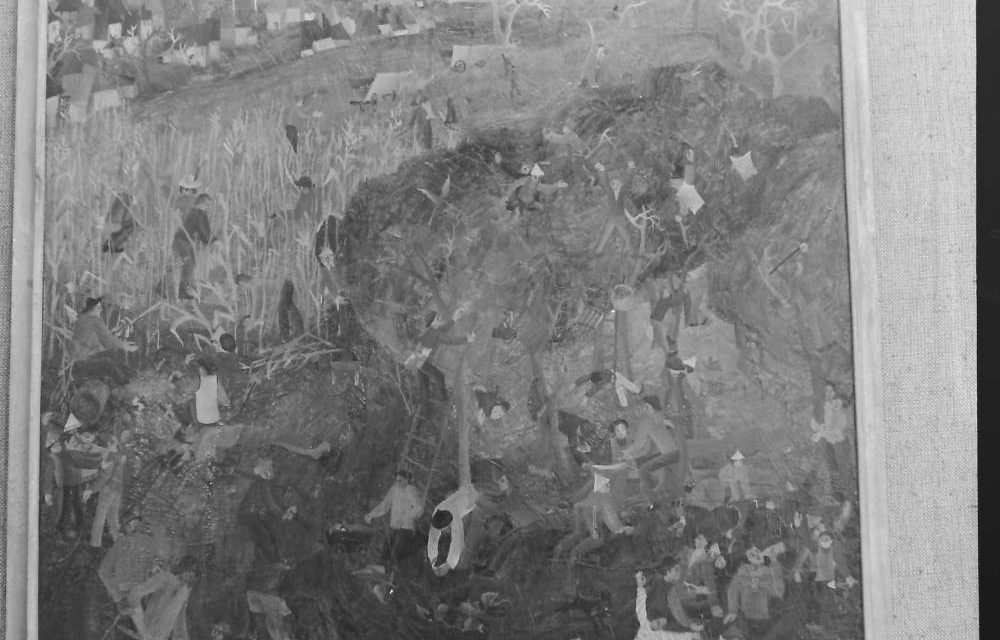 Pictorul Virgil Mancas, 1972