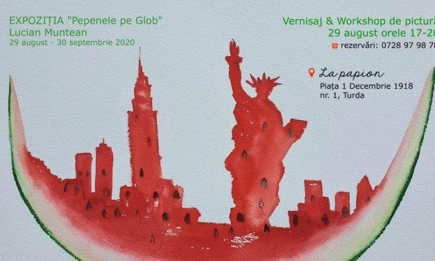 Expoziția Pepenele pe Glob @ La Papion, Turda