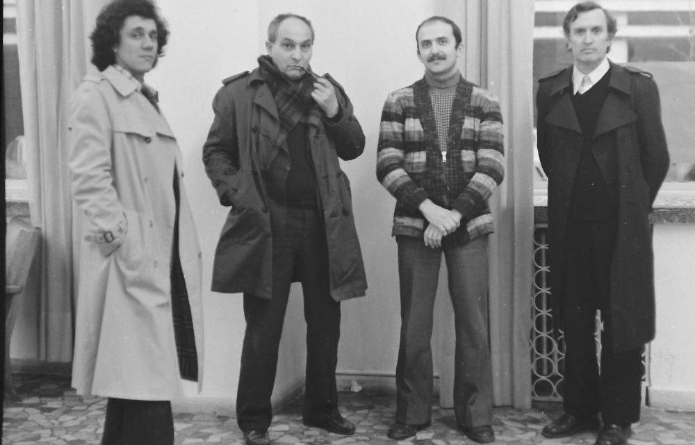 Romeo Zamfirescu, Spiru Chintilă, Titu Draguțescu și Mihai Rusu