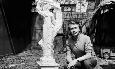 Sculptorul Mihai Alexandru, 1974