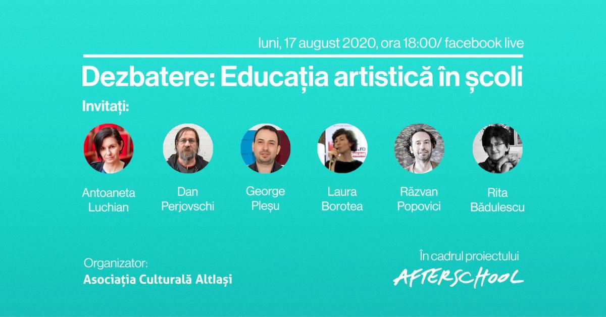 Dezbatere cu privire la educația artistică în școli