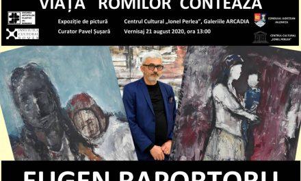 Eugen Raportoru – Viețile romilor contează @ Slobozia