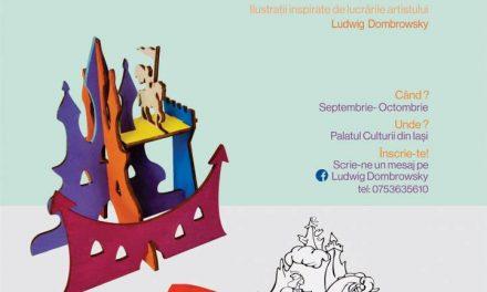 """Ateliere creative pentru copii organizate de Asociația Culturală AltIași, în parteneriat cu Complexul Muzeal Național """"Moldova"""" Iași"""