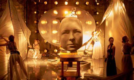 """Spectacolul-instalație """"Who Am I? A human-robot performance"""" continuă la Teatrul Odeon"""
