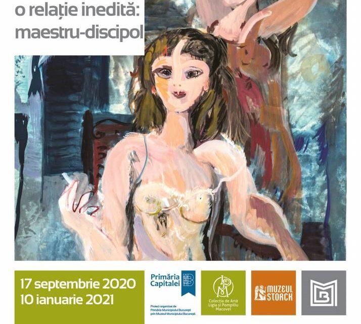 """Deschiderea expoziției-medalion """"Cecilia Cuțescu Storck și Ligia Macovei, o relație inedită"""", la Muzeul Macovei"""