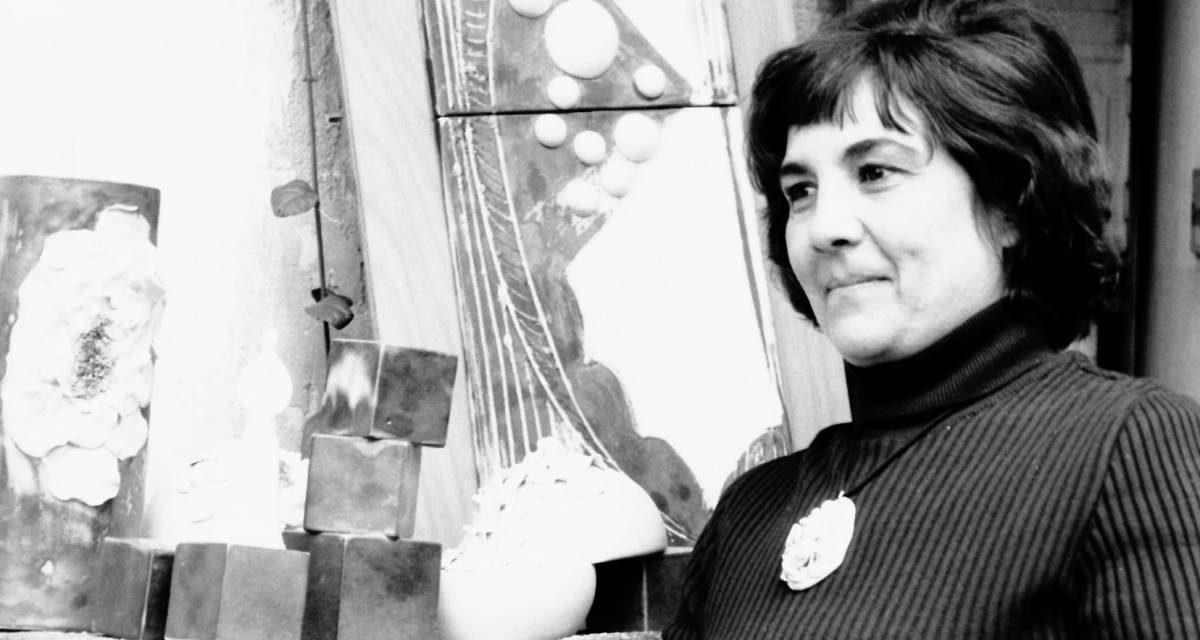 Ceramista Florentina Mihai, 1974
