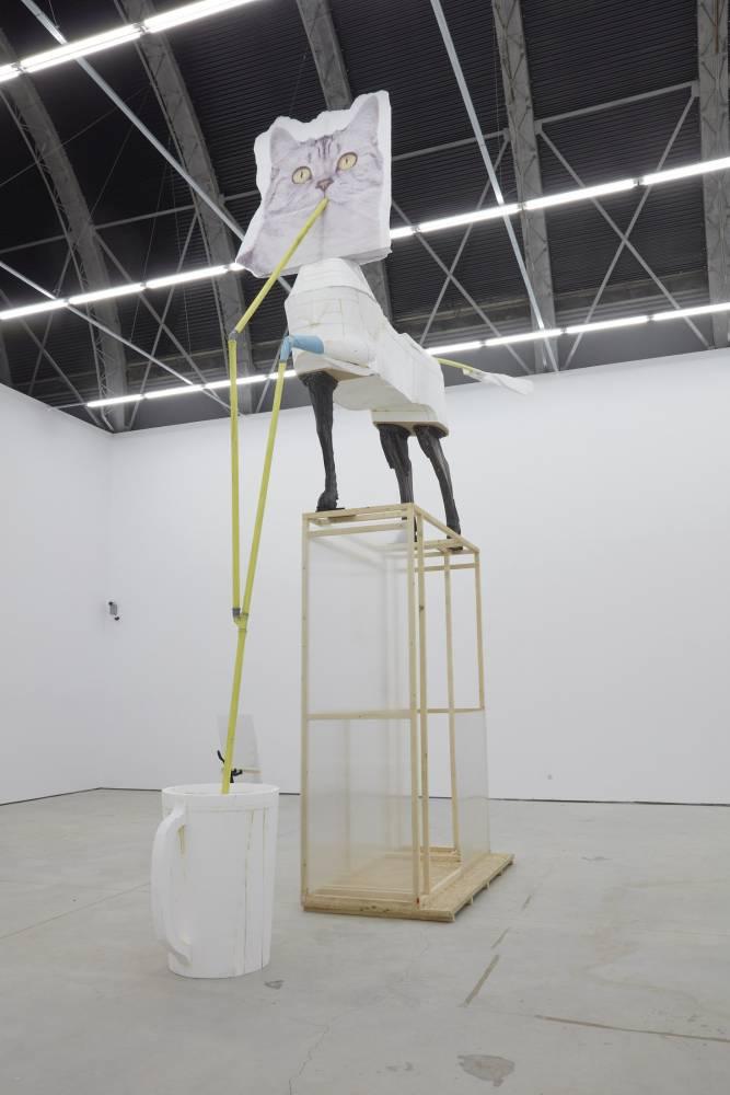 CRISTIAN RĂDUȚĂ / BUS STATION, 2018 Courtesy of Nicodim Gallery