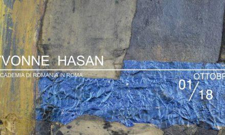 Expoziție de artă YVONNE HASAN (1925 – 2016) LA GALERIA DE ARTĂ ACCADEMIA DI ROMANIA IN ROMA