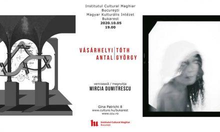Expoziție graficianul VÁSÁRHELYI Antal și artistul fotograf TÓTH György @ Institutul Cultural Maghiar din București