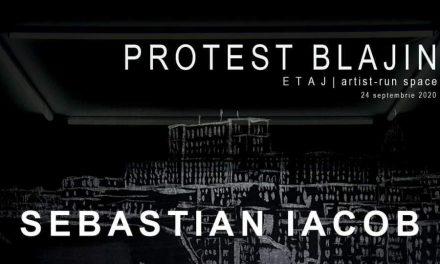 """Expoziție de pictură Sebastian Iacob """"Protest Blajin"""" @ ETAJ – artist run space, București"""