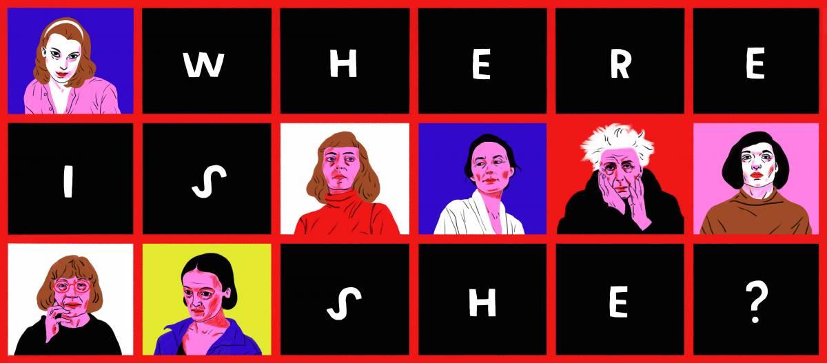 """Expoziția """"Where is she?"""" @ Alert Studio București"""