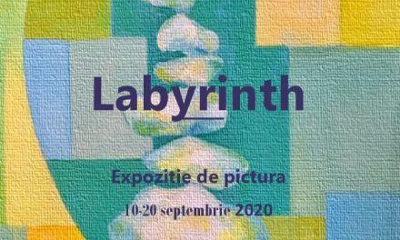 """Expoziție de pictură Angelica Mirela Pagu """"Labyrinth"""" @ Galeria de artă """"N. Tonitza"""", Iași"""