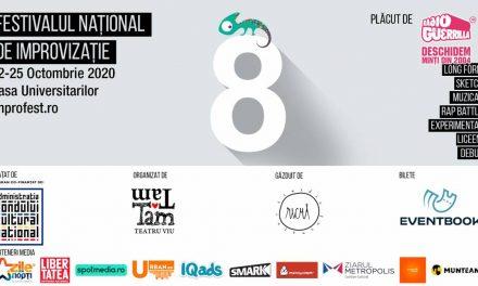 Festivalul Național de Improvizație revine între 22-25 octombrie la București!