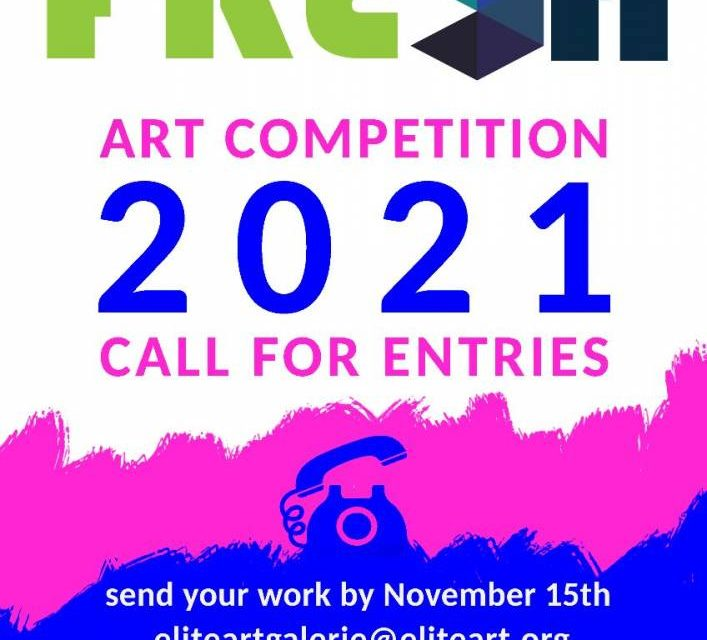 Fresh 2021 – Call for entries la Elite Art Gallery, București