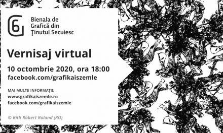 Festivitate de deschidere al ediției a 6-a a Bienalei de Grafică din Ținutul Secuiesc organizată online
