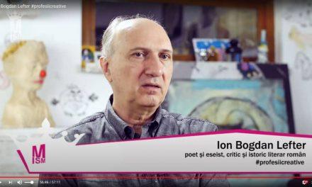 Ion Bogdan Lefter #profesiicreative