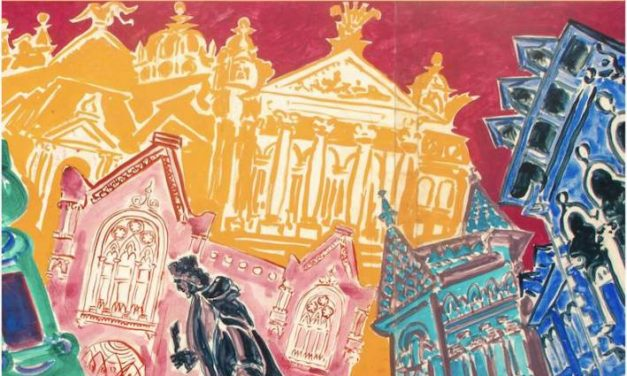 """Expoziția """"Culorile Iașului"""" și lansarea cărții Harap Alb cu ilustrațiile graficianului Ludwig Dombrowsky la Galeria Victoria din Iași"""