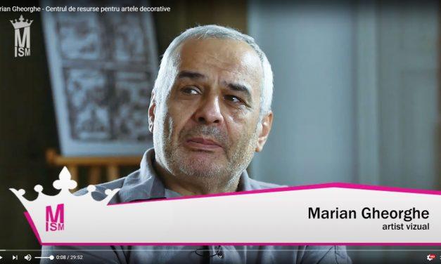 Marian Gheorghe – Centrul de resurse pentru artele decorative