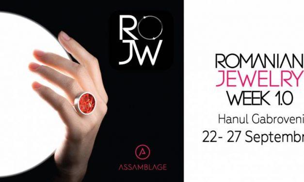 Prima ediție Romanian Jewelry Week 1.0
