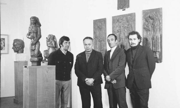 Sculptorul Gheorghe Anghel