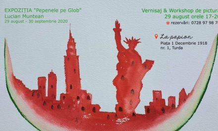 Vernisajul expoziției Pepenele pe Glob @ La Papion, Turda