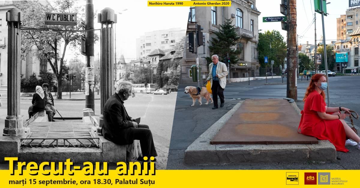 """Vernisajul """"Trecut-au anii, 1990 vs 2020"""" @ Muzeul Municipiului București – Palatul Suțu"""