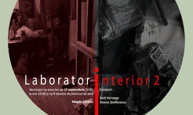 """Expoziție """"Laborator interior 2"""" @ Galeria Căminul Artei / Centrul Artelor Vizuale, București"""
