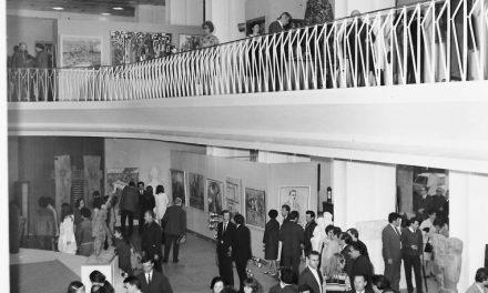 Bienala de Pictură și Sculptură, Sala Dalles, București vernisaj, 9 mai 1972