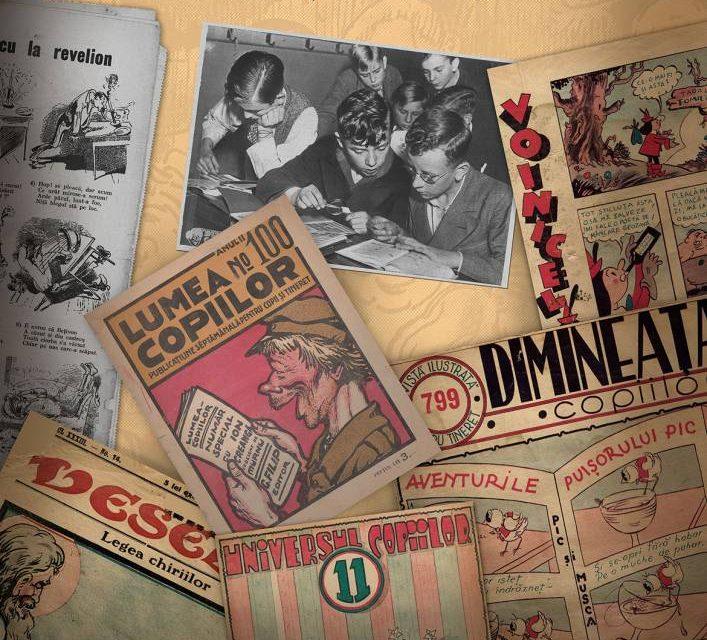 La Palatul Suțu a fost deschisă o expoziție de bandă desenată din perioada interbelică