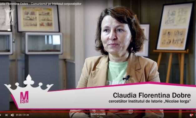 Claudia Florentina Dobre – Comunismul pe înțelesul corporatiștilor