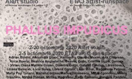 "Expoziție ""Phallus impudicus"" @ Alert studio, București"