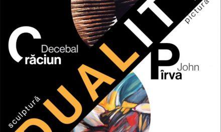 """expoziție de pictură și sculptură """"Duality"""", Decebal CRĂCIUN și John PÂRVA @ Galeria CĂMINUL ARTEI din București"""