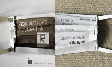 """Expoziție ,,Visul unei nopți de carantină/ A quarantine night's dream """" – Radu Carnariu @ GALERIA DE ARTĂ """"N. TONITZA"""", Iași"""