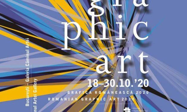 Grafica Românească 2020, a IX-a ediție @ Galeria CĂMINUL ARTEI din București