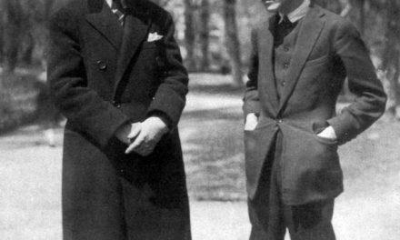 Victor Brauner și Ilarie Voronca în perioada în care publicau revista de avangardă 75HP